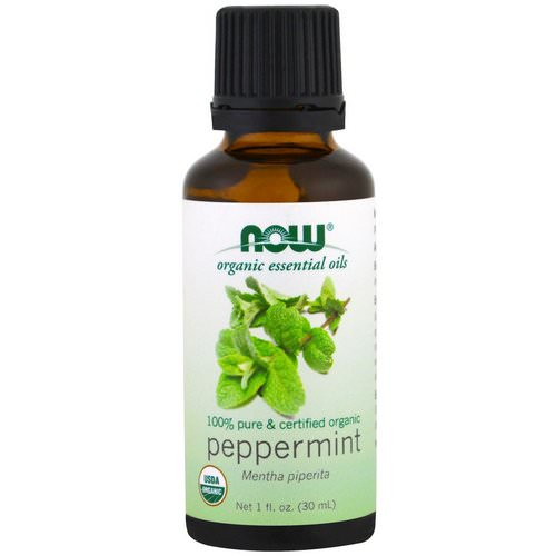 Now Foods, Organic Essential Oils, Peppermint, 1 fl oz (30ml) Review