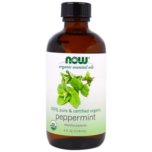 Now Foods, Organic Essential Oils, Peppermint, 4 fl oz (118 ml) Review