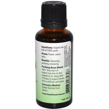 Tea Tree Oil, Cleanse, Purify, Essential Oils, Aromatherapy, Personal Care, Bath