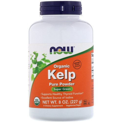 Now Foods, Organic Kelp, Pure Powder, 8 oz (227 g) Review
