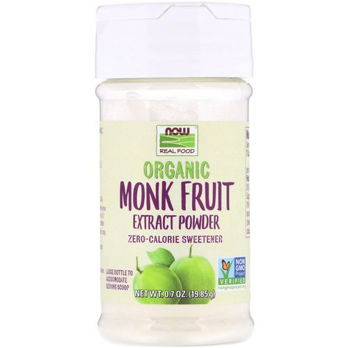 Now Foods, Organic Monk Fruit Extract Powder, 0.7 oz (19.85 g) Review
