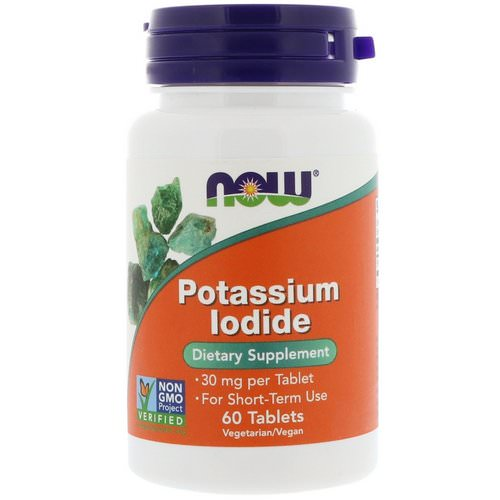 Now Foods, Potassium Iodide, 30 mg, 60 Tablets Review