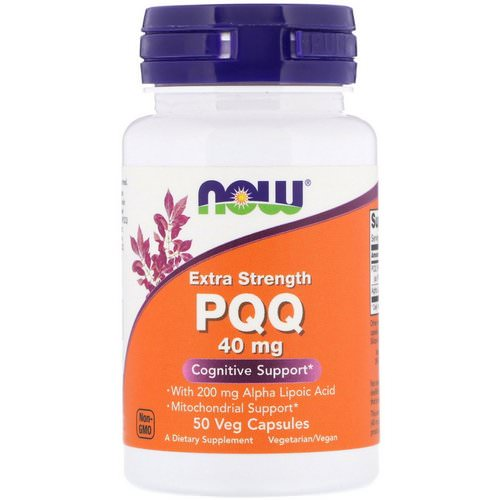 Now Foods, PQQ, Extra Strength, 40 mg, 50 Veg Capsules Review