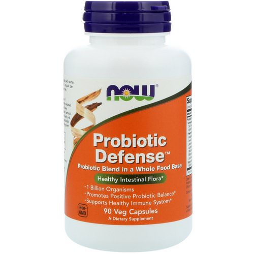 Now Foods, Probiotic Defense, 90 Veg Capsules Review