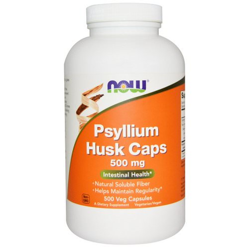 Now Foods, Psyllium Husk Caps, 500 mg, 500 Veggie Caps Review