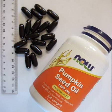Supplements Fish Oil Omegas EPA DHA Pumpkin Seed Oil Now Foods
