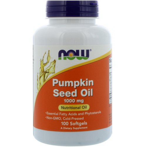 Now Foods, Pumpkin Seed Oil, 1000 mg, 100 Softgels Review