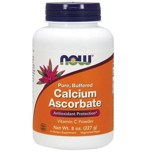 Now Foods, Pure, Buffered Calcium Ascorbate, Vitamin C Powder, 8 oz (227 g) Review
