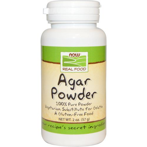 Now Foods, Real Food, Agar Powder, 2 oz (57 g) Review