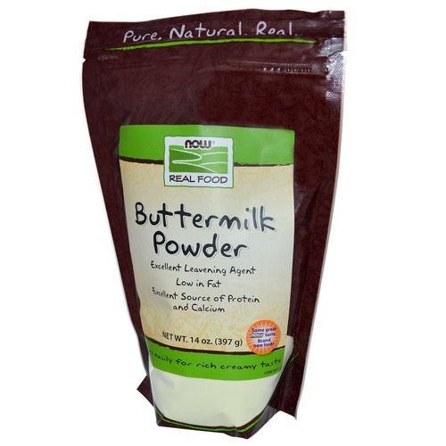 Now Foods, Real Food, Buttermilk Powder, 14 oz (397 g) Review