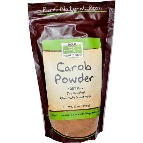 Now Foods, Real Food, Carob Powder, 12 oz (340g) Review