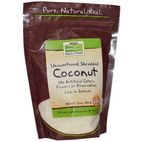 Now Foods, Real Food, Coconut, 10 oz (284 g) Review