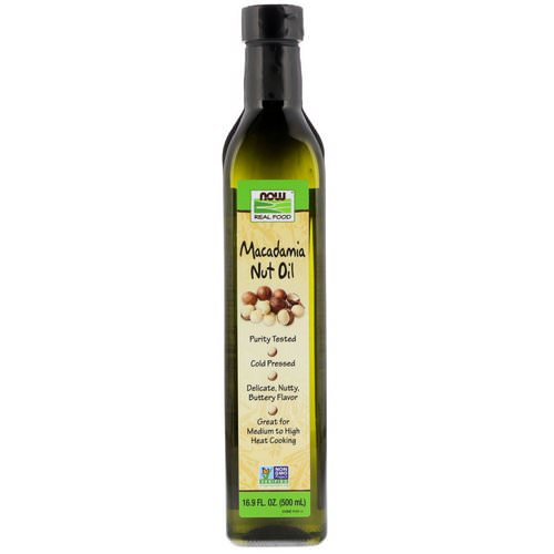 Now Foods, Real Food, Macadamia Nut Oil, 16.9 fl oz (500 ml) Review
