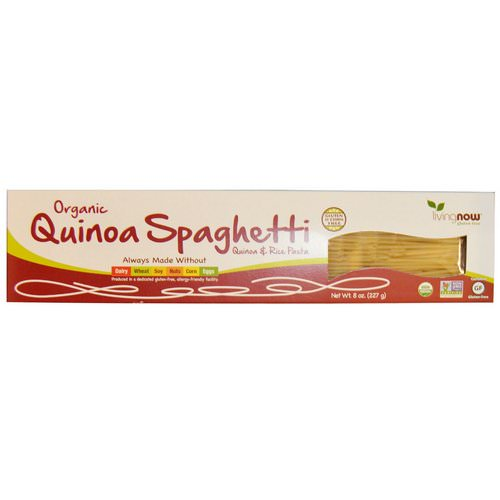 Now Foods, Real Food, Organic Quinoa Spaghetti, 8 oz (227 g) Review