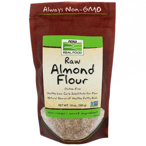 Now Foods, Real Food, Raw Almond Flour, 10 oz (284 g) Review