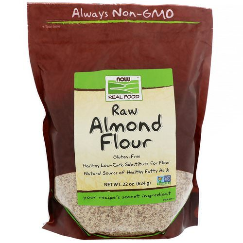 Now Foods, Real Food, Raw Almond Flour, 22 oz (624 g) Review