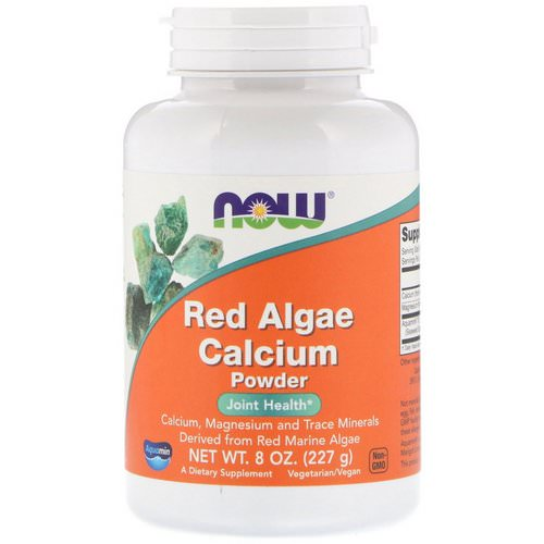 Now Foods, Red Algae Calcium Powder, 8 oz (227 g) Review