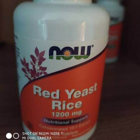 Now Foods Supplements Healthy Lifestyles Red Yeast Rice