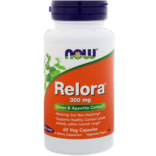 Now Foods, Relora, 300 mg, 60 Veg Capsules Review