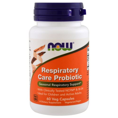 Now Foods, Respiratory Care Probiotic, 60 Veggie Caps Review