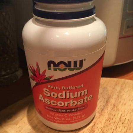 Now Foods, Sodium Ascorbate Powder, 3 lbs (1361 g) Review