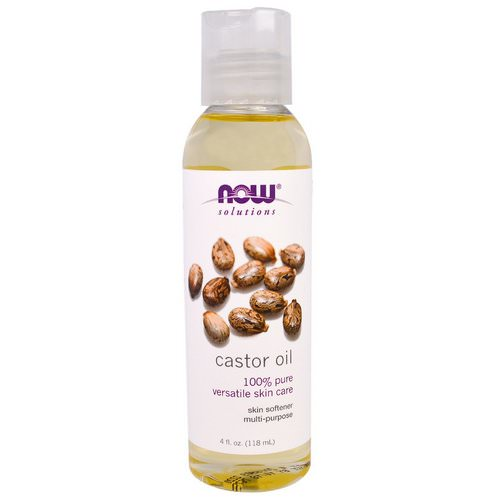 Now Foods, Solutions, Castor Oil, 4 fl oz (118 ml) Review