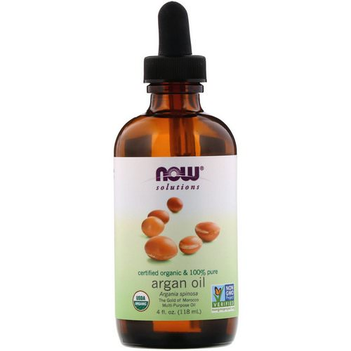 Now Foods, Solutions, Certified Organic & 100% Pure Argan Oil, 4 fl oz (118 ml) Review