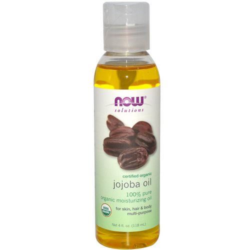 Now Foods, Solutions, Certified Organic, Jojoba Oil, 4 fl oz (118 ml) Review