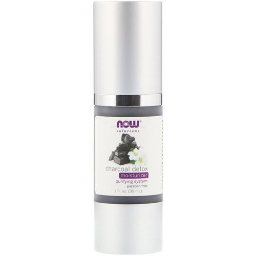 Now Foods, Solutions, Charcoal Detox Moisturizer, 1 fl oz (30 ml) Review