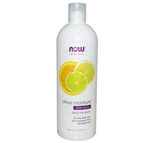 Now Foods, Solutions, Citrus Moisture Shampoo, 16 fl oz (473 ml) Review