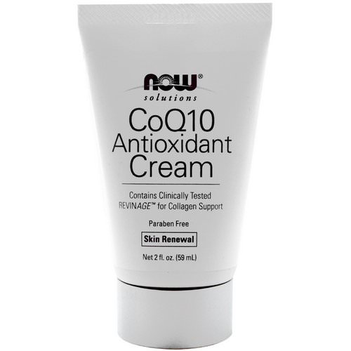 Now Foods, Solutions, CoQ10 Antioxidant Cream, 2 fl oz (59 ml) Review