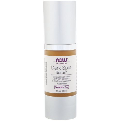 Now Foods, Solutions, Dark Spot Serum, 1 fl oz (30 ml) Review