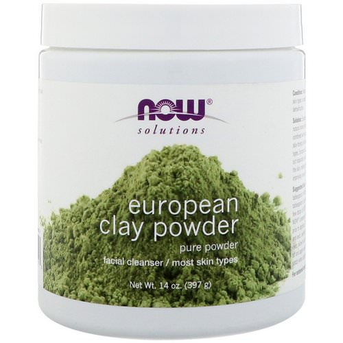Now Foods, Solutions, European Clay Powder, 14 oz (397 g) Review