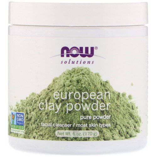 Now Foods, Solutions, European Clay Powder, 6 oz (170 g) Review