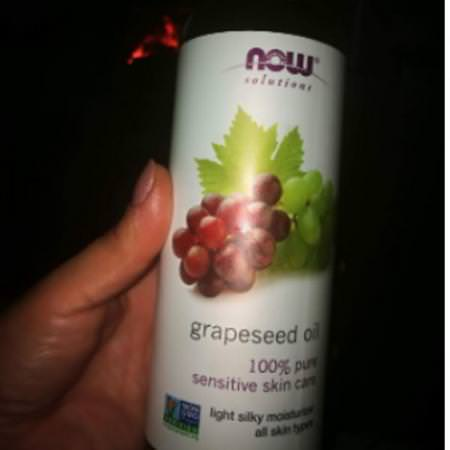 Now Foods, Grapeseed, Face Oils