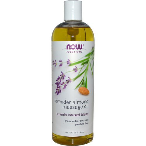Now Foods, Solutions, Lavender Almond Massage Oil, 16 fl oz (473 ml) Review