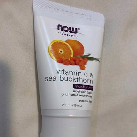 Now Foods, Face Moisturizers, Creams, Vitamin C, Beauty