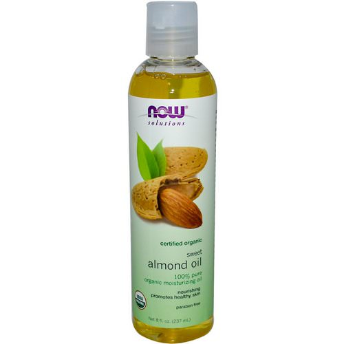 Now Foods, Solutions, Organic Sweet Almond Oil, 8 fl oz (237 ml) Review