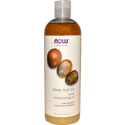 Now Foods, Solutions, Shea Nut Oil, Pure Moisturizing Oil, 16 fl oz (473 ml) Review