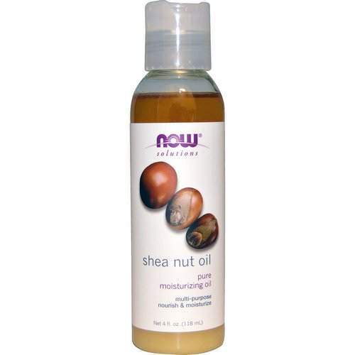 Now Foods, Solutions, Shea Nut Oil, Pure Moisturizing Oil, 4 fl oz (118 ml) Review