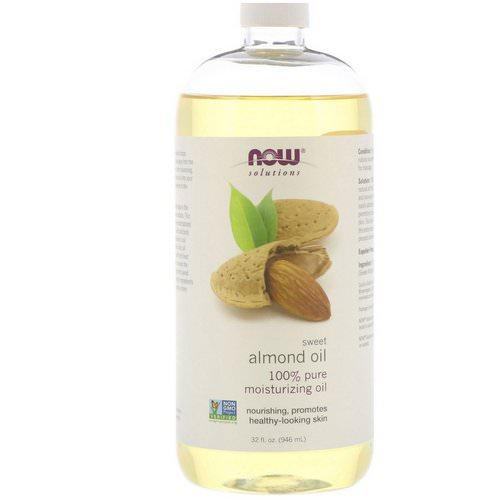 Now Foods, Solutions, Sweet Almond Oil, 32 fl oz (946 ml) Review