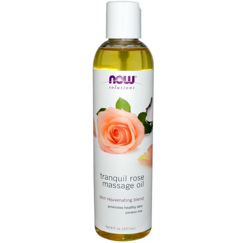 Now Foods, Solutions, Tranquil Rose Massage Oil, 8 fl oz (237 ml) Review