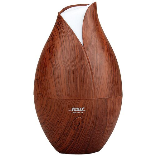 Now Foods, Solutions, Ultrasonic Faux Wood Grain Oil Diffuser, 1 Piece Review