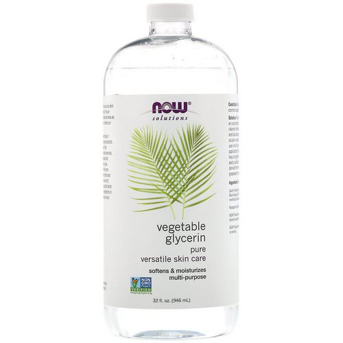 Now Foods, Solutions, Vegetable Glycerin, 32 fl oz (946 ml) Review