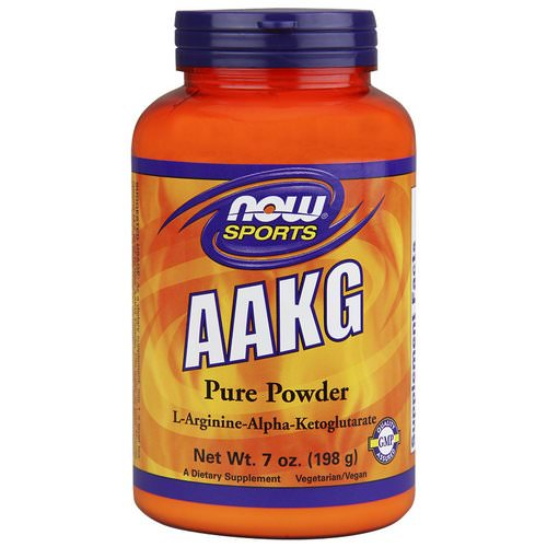 Now Foods, Sports, AAKG Pure Powder, 7 oz (198 g) Review