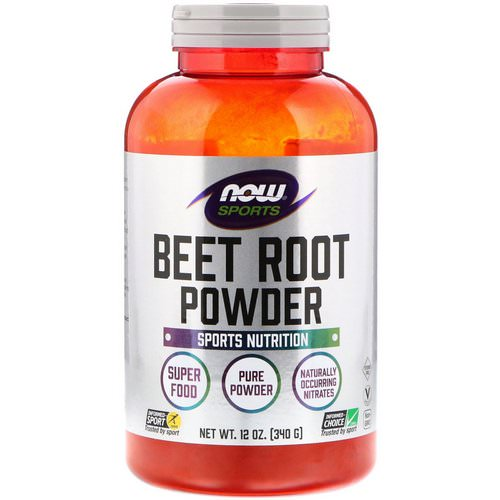 Now Foods, Sports, Beet Root Powder, 12 oz (340 g) Review