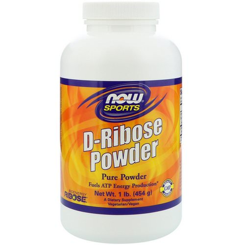 Now Foods, Sports, D-Ribose Powder, 1 lb (454 g) Review