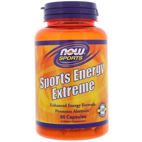 Now Foods, Sports Energy Extreme, 90 Capsules Review