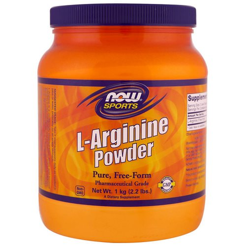 Now Foods, Sports, L-Arginine Powder, 1 kg (2.2 lbs) Review