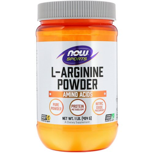 Now Foods, Sports, L-Arginine Powder, 1 lb (454 g) Review